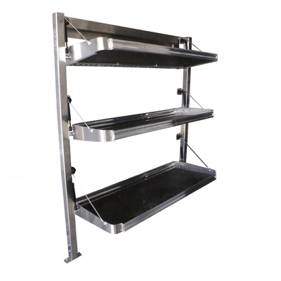Foldable Van Shelving