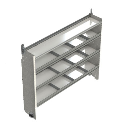 Square Back Shelving Units